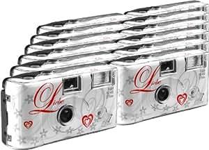 TopShot Love weiss Einwegkamera / Hochzeitskamera
