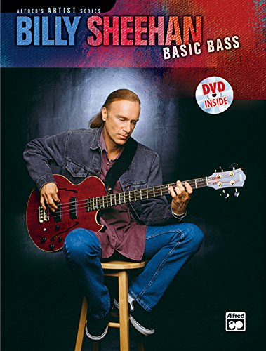 Billy Sheehan Basic Bass with DVD (Alfred's Artist)