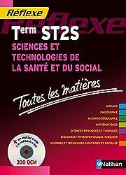Toutes les matières Réflexes : Sciences et Technologies de la Santé et du Social - Term ST2S