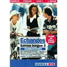 Etudes Francaises, Echanges, Edition longue, Zu Tl.3 : Grammatiktrainer, für Windows, 1 CD-ROM Französisch für Gymnasium Klasse 9, 3. Lernjahr. Mit Sprachausgabe. Für Windows ab 3.1 oder Windows 95