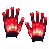 SoKy Regalos para Chicas De 3-12 Años, LED Iluminación Guantes para Halloween Carnaval Navidad Juguetes De Niños De 3 A 12 Años Regalos Originales para Mujer Cumpleanos SKUKST05