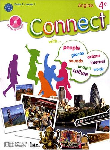 Anglais 4e Connect (1CD audio)