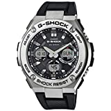 Casio Men's G-Shock GSTS110-1A Black Stainless-Steel Quartz Sport Watch