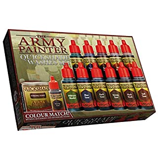 Army Painter ARM08023 - Quikshade Washes Set