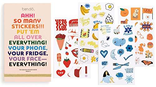 ban.do Planer Stickerbuch, 35 Seiten mit über 700 verschiedenen Aufklebern Issue 5