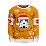 Official Star Wars Stormtrooper Christmas Jumper/Ugly Sweater - UK XS/US 2XS