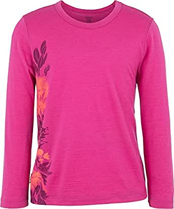 Icebreaker kids tech crew wild bunch magenta Taille unique Rose - magenta j78