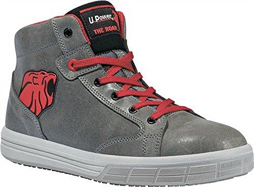 Di sicurezza per stivali con lacci EN ISO 20345S3SRC Predator taglia 41in pelle grigio