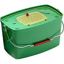 Plastilys Confort - Cubo para cebos vivos con cesta vivero, 12l