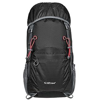 51RMVCmChRL. SS324  - G4free 40L Mochila Ultra Ligero de Senderismo con Cubierta Lluvia Resistente al Agua Plegable para Excursión Trekking Camping Escalada Viaje