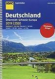 ADAC Superstraßen Deutschland, Österreich, Schweiz & Europa 2019/2020 1:200 000 (ADAC Atlanten) - COLLECTIF