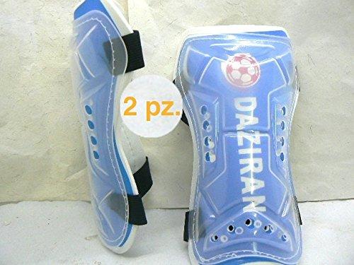 ProDigital Supporti Sanitari Deambulatori: 2 Parastinchi con piastra di protezione rivestita in materiale espansoi (n° 2 Protettivo Parastinco Rigido)