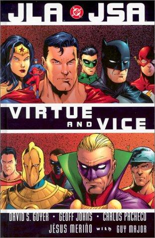 JLA JSA virtue and vice