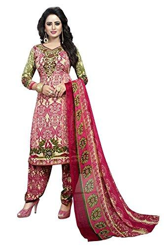 GREEN RIVERA Dress Material ( Dress Material for women latest design Dress...