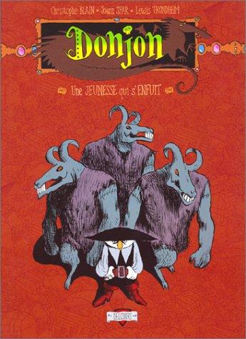 Donjon Potron-Minet, tome 97 : Une jeunesse qui s'enfuit par Lewis Trondheim