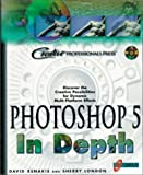 Photoshop 5 in Depth, w. CD-ROM