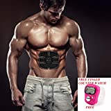 #7: EXCELLENT Wireless Muscle Stimulator EMS Stimulation Body Slimming Beauty Machine Abdominal Muscle Exerciser Training Device Body Massager