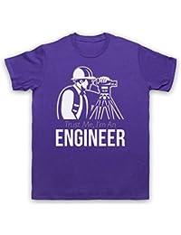 Trust Me I'm An Engineer Funny Work Slogan Herren T-Shirt