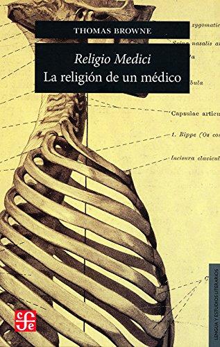 RELIGIO MEDICI La religión de un médico (Lengua y Estudios Literarios)