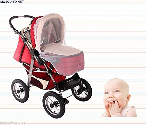 baby-buggy-pram-pushchair-protector-fly-mesh-mosquito-net-midge-insect-bug-eu