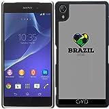 Funda para Sony Xperia Z2 - Camisa Del Fútbol De Brasil 2016 by ilovecotton
