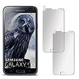 2X OneFlow 9H Panzerfolie für Samsung Galaxy S5 | Panzerglas Matt Glasfolie [Tempered Glass] Screen Protector Displayschutz-Folie für Samsung Galaxy S5 / S5 Neo Schutzfolie Glas