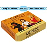 Underarm Shields (Adhere/Stick To Skin) MONDSS 10 PACK Of Underarm Wear – For Men/Women. FREE FAST Same Day Shipping...