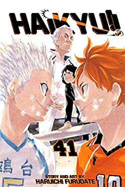 Haikyu!!, Vol. 41: The Little Giant Vs... (English Edition)