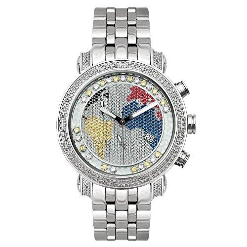 Joe Rodeo con orologio da Uomo - CLASSIC argento 1,75 ctw