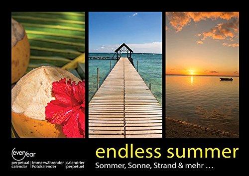 endless summer A3 Immerwährender Fotokalender