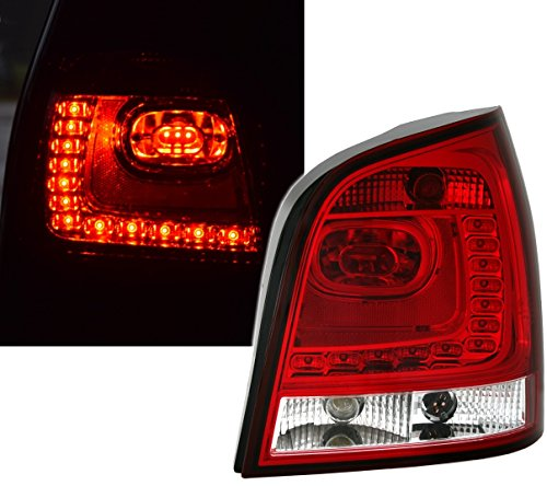 LED Rückleuchten Set in Rot-Weiß