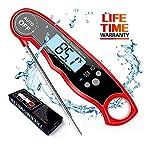 Thermometre de Cuisson, Thermomètre de Cuisine Numérique, Sonde Inox,...