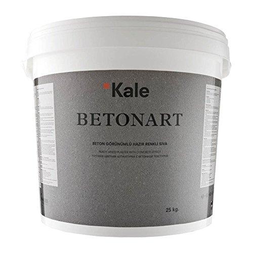 Betonart Betonspachtel B183 Designer Spachtelmasse mit Betonoptik Hellgrau 25kg