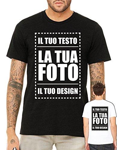 Villagestore t-shirt personalizzabile stampa fronte e retro