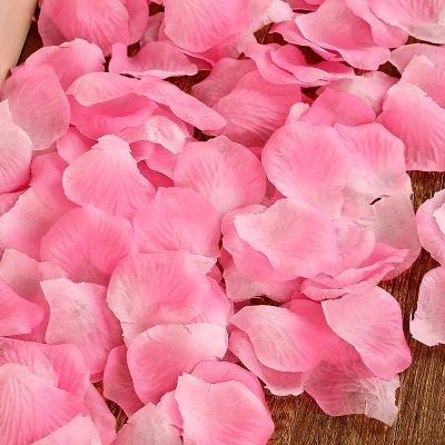 Y&HUNTUO (10PCS) Forniture di nozze / decorazione della stanza di nozze / simulazione petalo di falsificazione / decorazione di cerimonia nuziale / petalo di rosa di simulazione colata a mano , 4 3