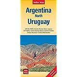 Nelles Map Landkarte Argentina: North, Uruguay | Argentinien : Nord, Uruguay | Argentine : Nord, Uruguay | Argentina : Norte, Uruguay: 1:2500000 | ... et imperméable; irrompible & impermeable