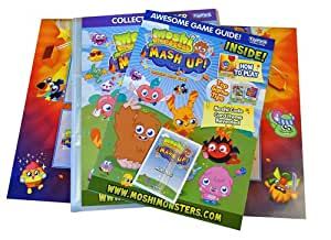 Moshi Monsters Mash Up Trading Card Starter Pack Binder