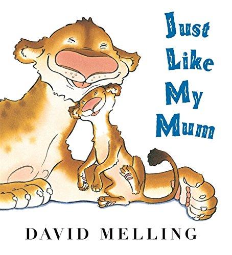 Just Like My Mum: Board Book