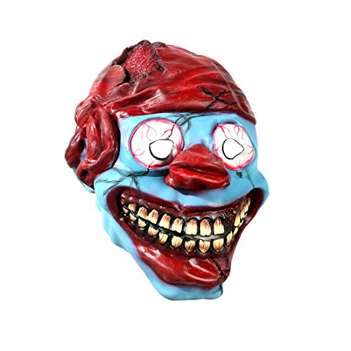 Dora Adult Kostüm - Halloween Horrific Demon Adult Scary Clown Cosplay Requisiten Devil Flame Zombie Maske