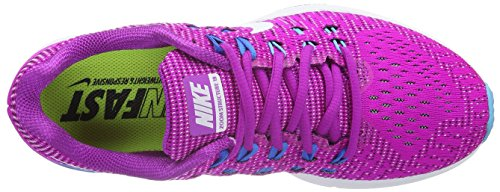 Nike Air Zoom Structure 19, Chaussures de Running Compétition Femme Violet (Hyprr Violet/White/Gmm Bl/Photo Blue)