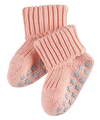 FALKE Unisex Baby Socken Cotton Catspads - Beige (Peach Perl 8483) , 62 (Herstellergröße: 62-68 )