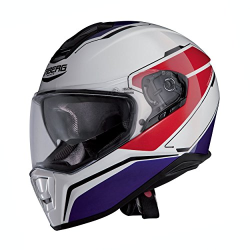 Caberg Integralhelm Drift Tour Weiss Blau Rot