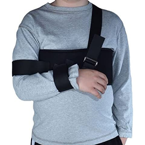 BraceAbility Kid's Pediatric Arm Sling & Shoulder Immobilizer by