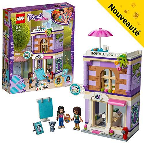 LEGO Friends - L'atelier d'artiste d'Emma - 41365 - Jeu de...