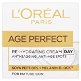 Best Age Spot Creams - L'Oreal Paris Age Perfect Rehydrating Day Cream 50ml Review