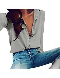 79952e8ab9 Amazon.it: camicia seta donna - Bluse e camicie / T-shirt, top e ...