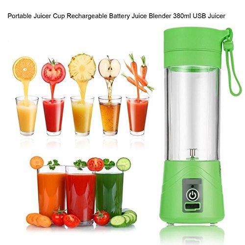 380ML Mini USB Electric Fruit Juicer Cup