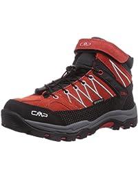 snfgoij Damen Wanderschuhe Mädchen Wasserdicht Wanderschuhe Outdoor Shoes,Red-36