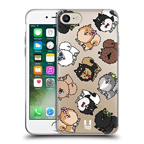Head Case Designs Bouledogue Français Modèles De Race De Chien Étui Coque en Gel molle pour Apple iPhone 6 Plus / 6s Plus Poméranien