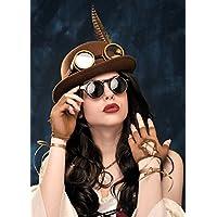 Adulto marrone Steampunk (Cappelli Vittoriani Per Le Donne)